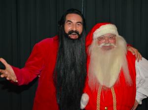 Hr. Skæg og julemanden